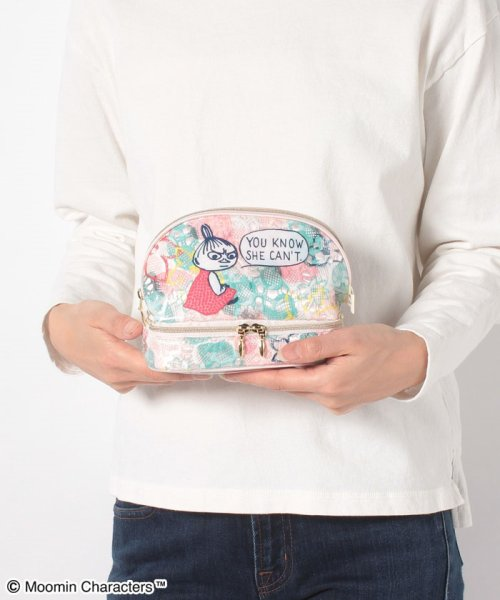 Afternoon Tea LIVING(アフタヌーンティー・リビング)/Moomin×Afternoon Tea/2段シェル型ポーチ/GG7020200256_img06