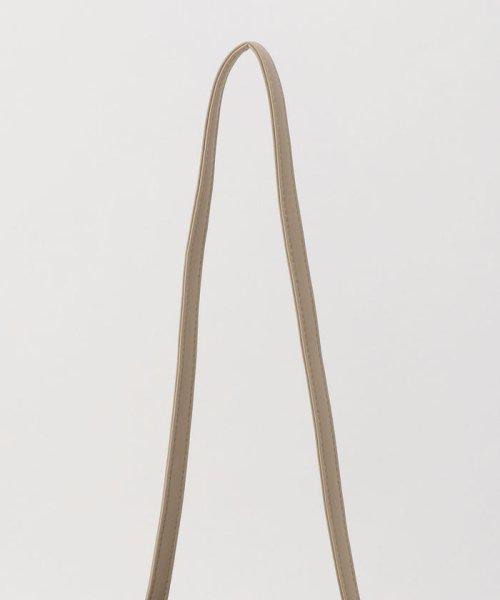 fredy emue(フレディエミュ)/フェイクレザープリーツ巾着バッグ/0-0121-1-32-101_img05