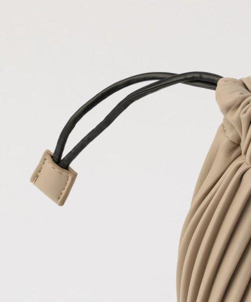 fredy emue(フレディエミュ)/フェイクレザープリーツ巾着バッグ/0-0121-1-32-101_img06