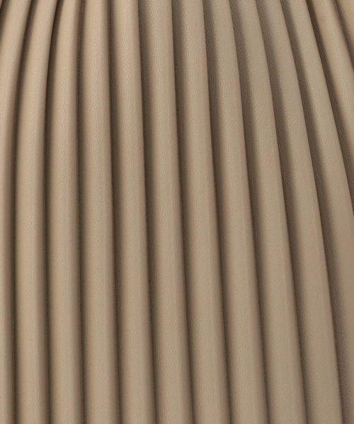 fredy emue(フレディエミュ)/フェイクレザープリーツ巾着バッグ/0-0121-1-32-101_img10