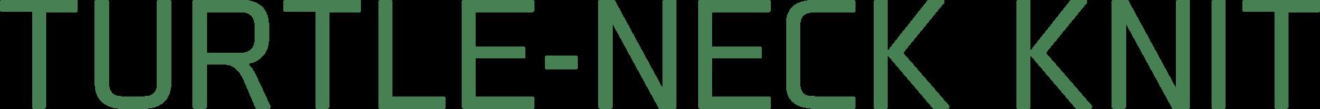 TURTLE-NECK KNIT