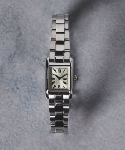 【UNITED ARROWS(ユナイテッドアローズ)】◎UAB SQ METAL 腕時計