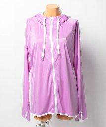 VacaSta Swimwear/【BENETTON】シンプルロゴフード付きUVジャケット大きいサイズUPF50+/001585831