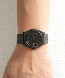 NIXON/TIME TELLER: ALL BLACK/ROSE GOLD/001653203