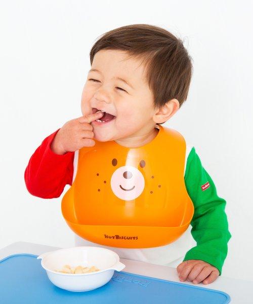 MIKI HOUSE HOT BISCUITS(ミキハウスホットビスケッツ)/お顔がドン☆ランチスタイ/702944789P1000