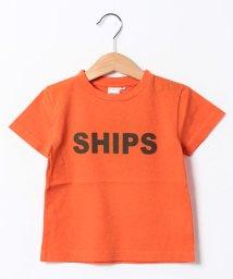 SHIPS KIDS/SHIPS KIDS:ロゴ TEE/001759973
