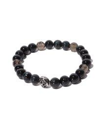 ARTEMIS CLASSIC/トレサリーブルータイガーアイ数珠ブレス/001768526