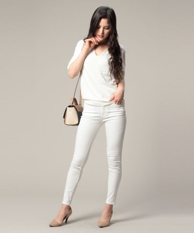 【AZUL BY MOUSSY(アズールバイマウジー)】【吸水速乾】A Perfect Skinny 3