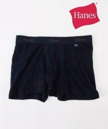 SHIPS MEN/Hanes×SHIPS: 消臭糸使用 コットン ストレッチ ソリッド ボクサーパンツ/001810940