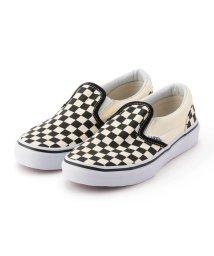 SHIPS KIDS/VANS:CHECKERBOARD SLIP-ON(16~21cm)/001830561