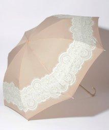 pink trick/雨晴兼用 折傘 (UVカット&軽量) レース&リボン/001862547