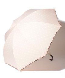 pink trick/雨晴兼用 折傘 (UVカット&軽量) インドット/001862548