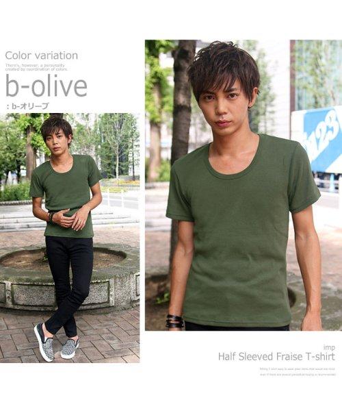 improves(インプローブス)/【IMP】T/Cフライス半袖Tシャツ/95185