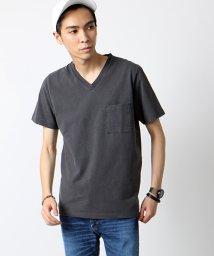 FREAK'S STORE/米綿 Vネック Tシャツ/001906915