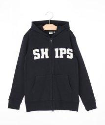 SHIPS KIDS/SHIPS KIDS:ロゴ フード ジップアップ(145~160cm)/001910787
