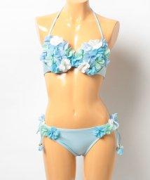 VacaSta Swimwear/【BENETTON】シフォンフラワーワイヤービキニ/001920105