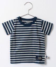 RUGGEDWORKS/ボーダークルー半袖Tシャツ/001919905