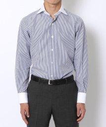 TOMORROWLAND MENS/140/2コットンブロード ワイドカラー ドレスシャツ/001938416