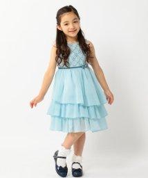 KUMIKYOKU KIDS/【TODDLER】小紋幾何フラワー ドレス/001941464