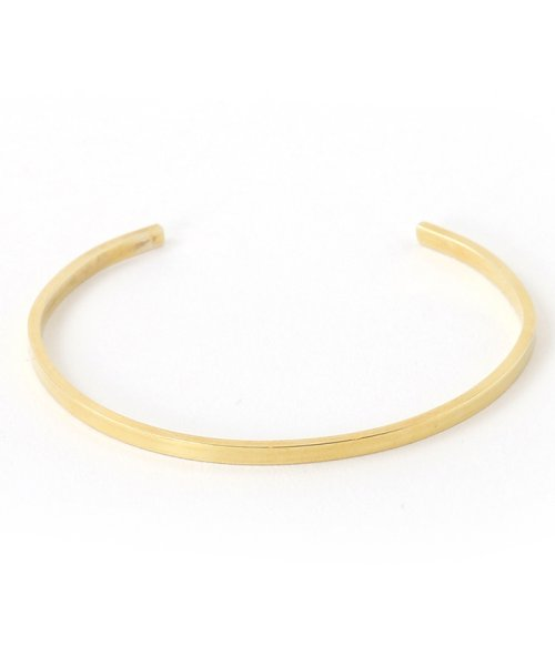 CLANE(クラネ)/SLIM PLATE BANGLE GOLD/111363071