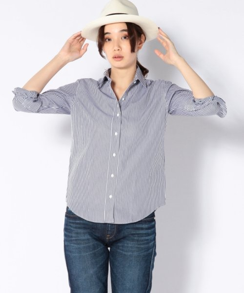 SHIPS WOMEN(シップス ウィメン)/THOMASMASONストライプシャツ/311130209