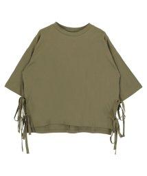 titivate/サイドリボンTシャツ/001971291