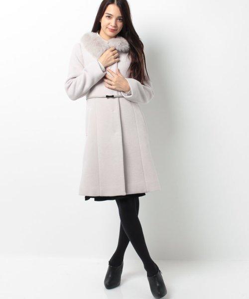 PROPORTION BODY DRESSING(プロポーション ボディドレッシング)/【AneCan 12月号掲載】ベルト付ノーカラーコート/1216252002