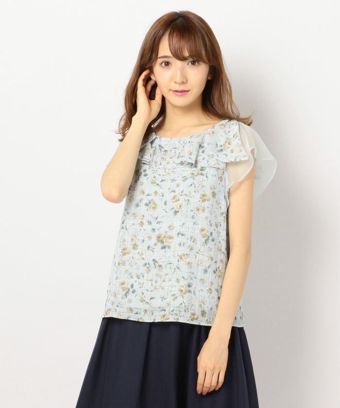 MISCH MASCH(ミッシュマッシュ)【TVドラマ着用】花柄ブラウス