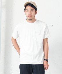 URBAN RESEARCH/【WAREHOUSE】綿麻ポケTEE/001975645