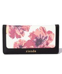 rienda/【rienda】花柄デザインスマホケース/001980773