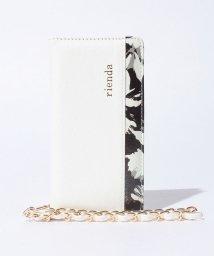 rienda/【rienda】内装花柄プリントスマホケース/001980775