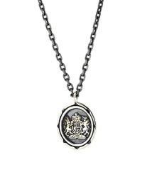 LION HEART/LH Petite Modern‐04N13AW04‐メンズプチネックレスSV(イギリス国章コイン)/002001120