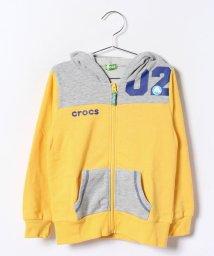 crocs(KIDS WEAR)/トドラー切替パーカー/001999106