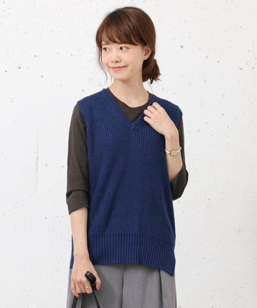 URBAN RESEARCH OUTLET(アーバンリサーチ アウトレット)/【WAREHOUSE】V/N畦ニットベスト2/WH6422M005