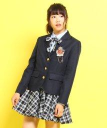 PINK-latte/エンブレム刺繍入りブラウス/002024645