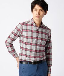 MONSIEUR NICOLE/タータンチェックシャツ/002035832