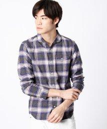 HIDEAWAYS NICOLE/杢調チェックシャツ/002035988