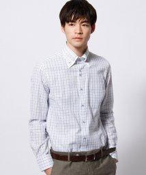NICOLE CLUB FOR MEN/ボタンダウンダブルカラードレスシャツ/002036264