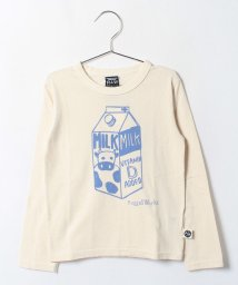 RUGGEDWORKS/プリントロンTee 牛乳/002020300