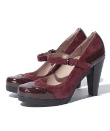 INTER-CHAUSSURES IMPORT/【ABOVE AND BEYOND】ヒールアップストラップパンプス/002051380