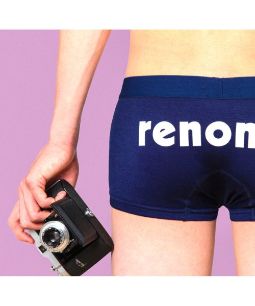 renoma(レノマ)/SPORTS BACK PRINT SHORT BOXER/1T604UH