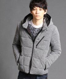 NICOLE CLUB FOR MEN/中綿入りフリースブルゾン/002114843