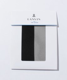 LANVIN en Bleu(ladies socks)/着圧パンスト(M‐L)/LB0001831