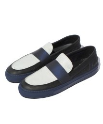 LANVIN en Bleu(mens shoes)/コンビローファー/LB0002486