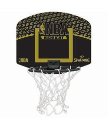 SPALDING/スポルディング/MICRO MINI NBA BK/GO/500005919