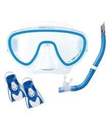REEF TOURER/ツサ/軽量コンパクト旅行向けシリコーンマスク+スノーケル+フィン3点セット/500007970
