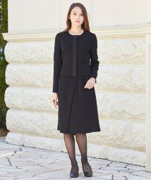 BLACK GALLERY/【BLACK GALLERY】ラップ風スカーチョの洗えるスーツ/500028702