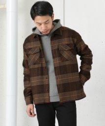 URBAN RESEARCH/【WAREHOUSE】カラーネップストレッチシャツジャケット/500040166