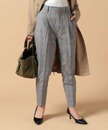 beautiful people/c/nylon glen check tucked pants/500047947