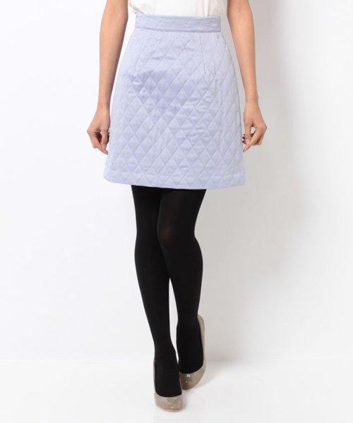 PROPORTION BODY DRESSING(プロポーション ボディドレッシング)/サテンキルティングスカート/1215220001